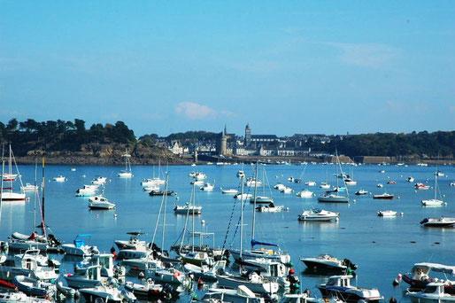 Blick von der Pointe du Moulinet nach St.Malo