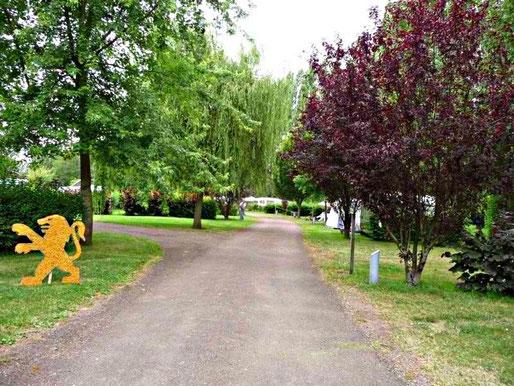 Orginalfoto Campingplatz Courville sur Eure