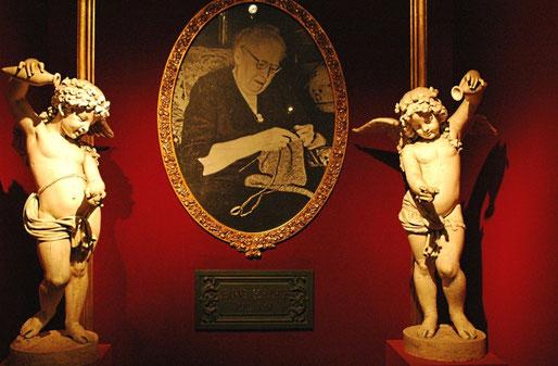 Eingangshalle des Museums: Bild v. Jeanne Schlumpf