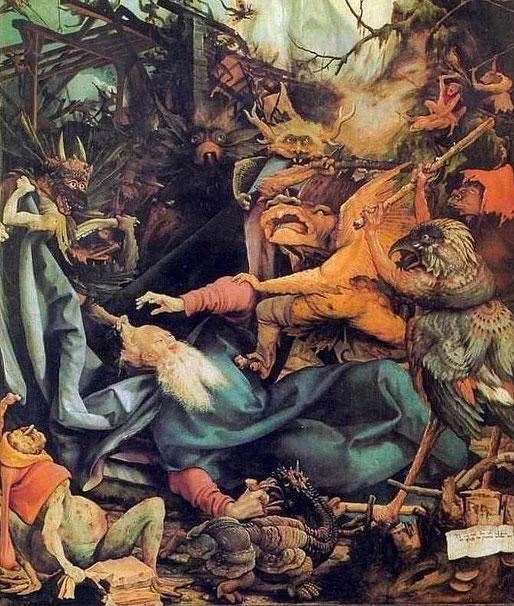 Antonius wird von den Dämonen besiegt