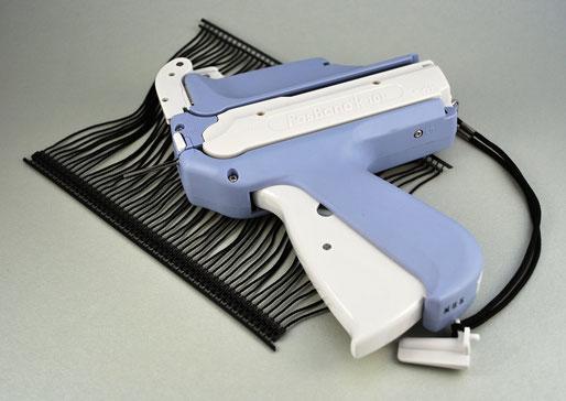 FasBanok 101 - Pistola para etiquetar Marchamos Textiles o Precintos Seguridad