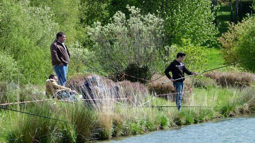 Pêche au coup, moniteur guide de pêche, Corrèze, enfant, Patrice Graillaud, Corrèze Fishing