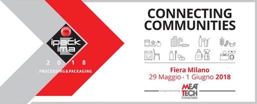 IPACK IMA 2018 - FIERAMILANO, RHO - Hall 6 - Stand 6/A07 - Giuseppe Desirò