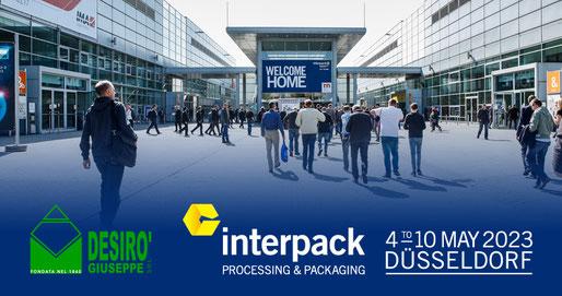 interpack 2023 - 04>10 may 2023 - Dusseldorf