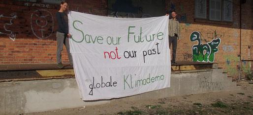 Klima-Demo in Lübben