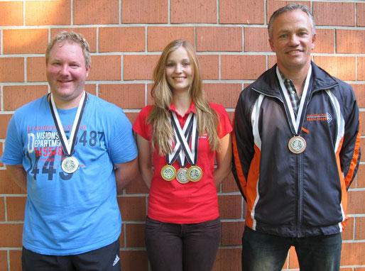 Céline Spichtig, Gratulation zum Edelmetal 2 x Gold 1 x Bronze an den Ostschweizerischen Einzelmeisterschaften