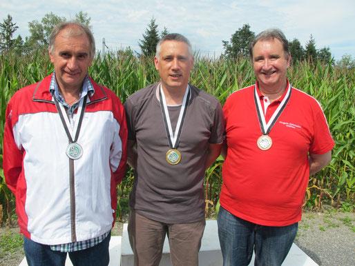 Armin Kaufmann; Gratulation zur Bronze Medaille an den Ostschweizerischen Einzelmeisterschaften