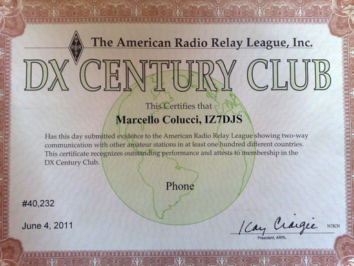 DXCC for 200 entity