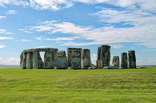 Kulturreise 2015 nach Cornwall, Foto vom berühmten Stonehenge