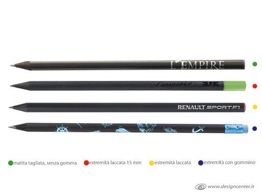Matita tonda nerina, La matita perfetta,  personalizzate con il tuo logo!