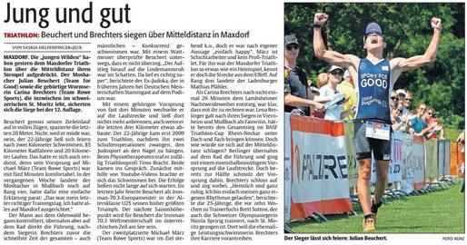 Die RHEINPFALZ, Sport am Montag, 15.06.2015