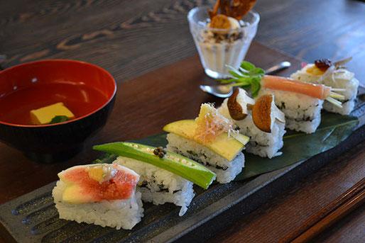 お寿司のミルフィーユ