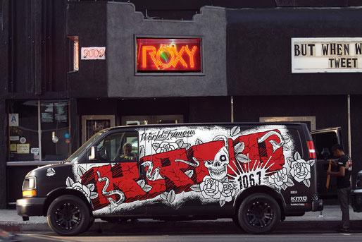 Roxy 2011 (Foto: Christian Düringer) und live 1986