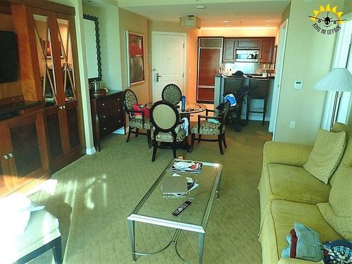 Das Signature beim MGM in Las Vegas bietet tolle Apartments.