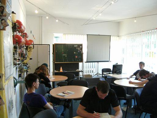 Unterrichtsraum in unserer Fahrschule in Cuxhaven