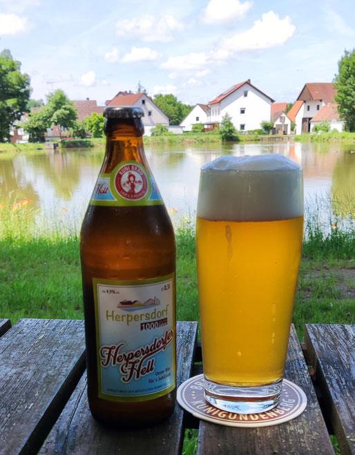 Herpersdorfer Hell - Unser Bier für's Jubiläum