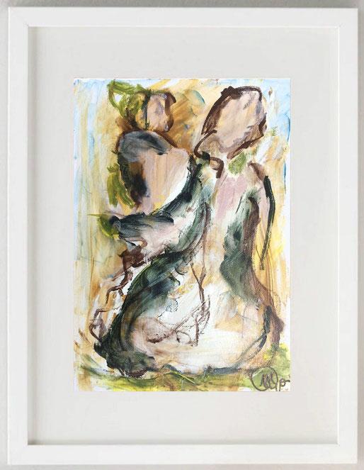 "14 /  RO MILAN, ""Mutamenti"", 2018, tempera su carta, 20 x 30 cm."