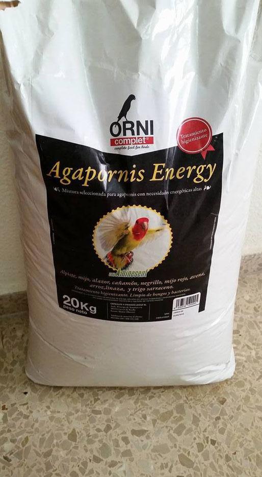 LEGACIN AGAPORNIS ENERGY