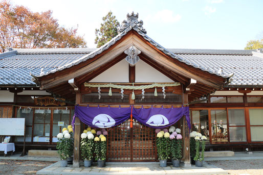 豊満神社社務所(御神符授与所)