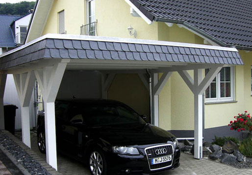 flachdach carport nach ma hier konfigurieren. Black Bedroom Furniture Sets. Home Design Ideas