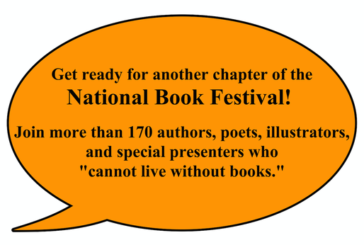 Get ready for another chapter of the National Book Festival!