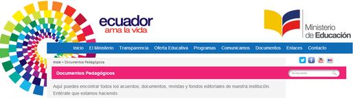 http://educacion.gob.ec/documentos-pedagogicos/