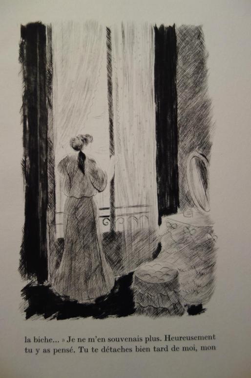 Colette, Chéri, Vialetey, 1942, 30 pointes sèches originales de Grau Sala, livre rare