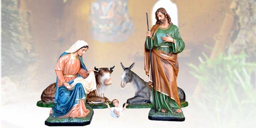 Statue natività per presepe vendita