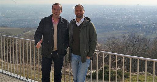 Gründer und Geschäftsführer Alex Schuch und Felix Woldt