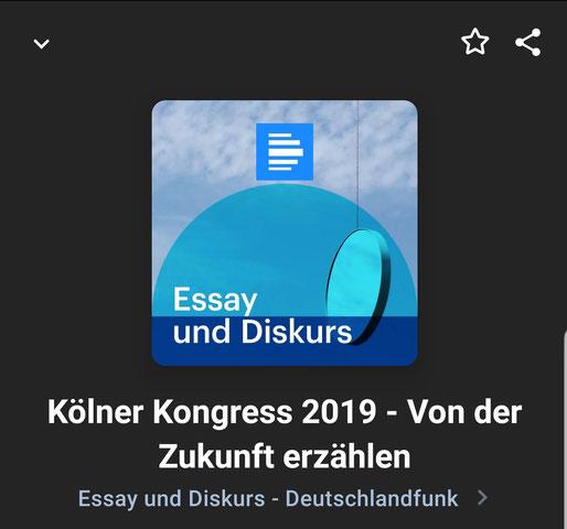 Podcast Essay und Diskurs