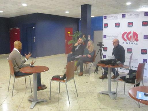 vague(s) magazine pure player intuitif et évolutif : rencontre avec Gregory Mutombo au CGR de Narbonne
