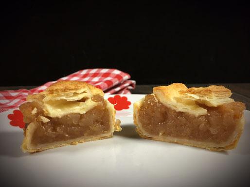 Blätterteig Apfel Muffins, Blätterteig Muffins mit einer saftigen Apfel-Zimt-Füllung aus dem Thermomix schnell und einfach gemacht.