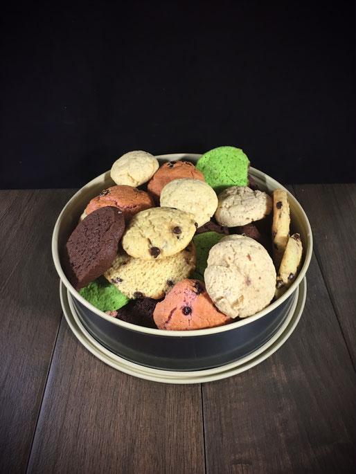Grundrezept für amerikanische Cookies mit vielen Variationsmöglichkeiten, vegan und aus dem Thermomix