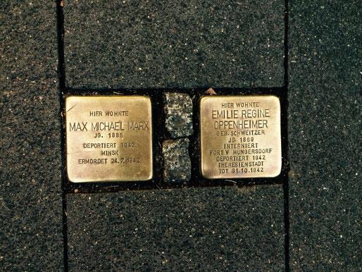 Stolpersteine, pietre d'inciampo nel centro storico nord