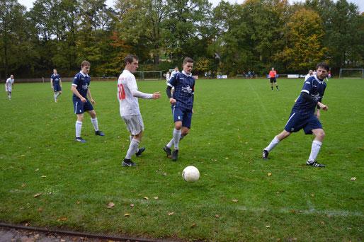 Michel Dennin und Florian Helmke hängten sich derbe rein für ihr Team, am Ende mussten auch sie sich mit dem mageren Punkt zufrieden geben.