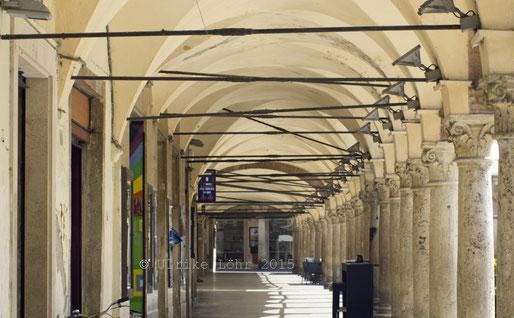 an der Piazza del Popolo