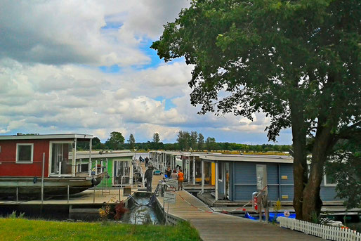 Die BunBo Marina in Brandenburg-Plaue