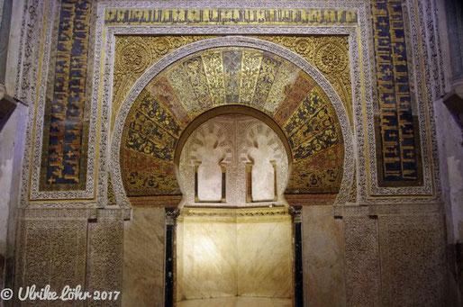 Mihrab in Córdobas Mezquita-Catedral