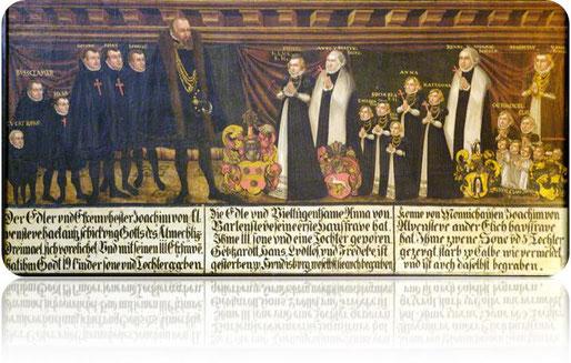 Quelle des Bildes: Mail von Ulrike Wahrendorf KULTUR-Landschaft Haldensleben-Hundisburg e.V. Schloss D-39343 Hundisburg