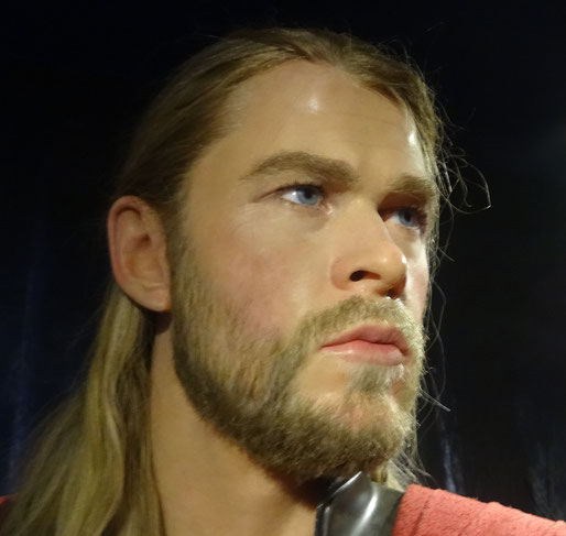 Thor at Madame Tussauds - Amsterdam
