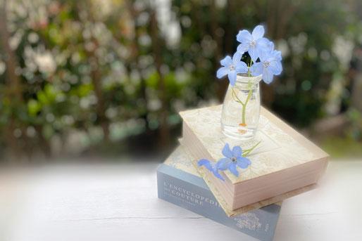 パソコンの画面をのぞき込みながらミーティングを行う社員たち。
