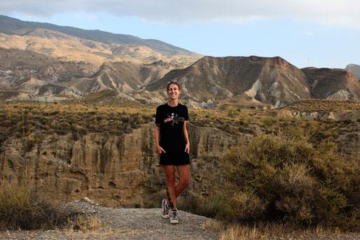 Lonelyroadlover in the middle of Tabernas Desert