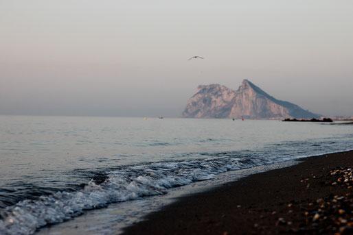 Playa de la Alcaidesa, Algeciras, Andalusien