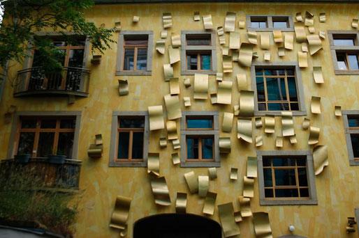 Kunsthofpassagen in Dresden, Dredsen Neustadt, alternative Viertel Dresden