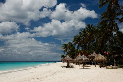 Divi Beach on Aruba, dream beaches Caribbean