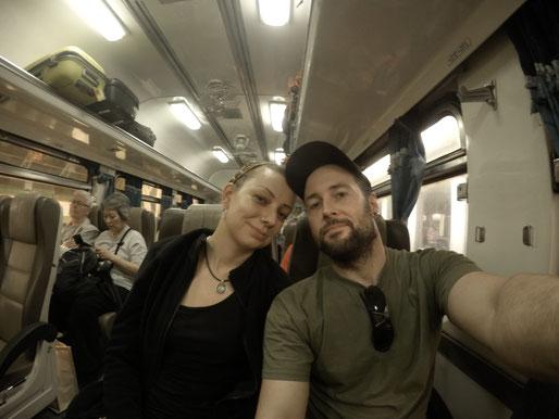 Thailand, Thailand 2016, Bangkok, Hua Hin, Hua Lamphong, Zugfahrt, Zwei auf Achse