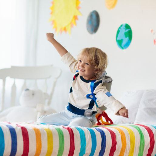 Wobbelturnen Kids in Kempten, Melanie Probst, Wobbelturnen Trainer auf dem Wobbel XL