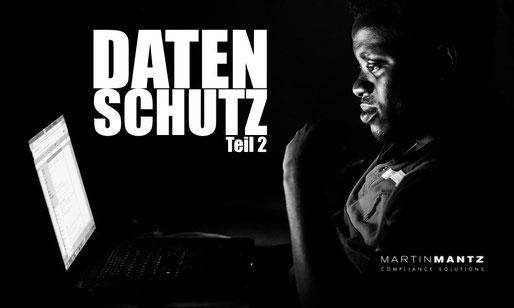 Datenschutz - Martin Mantz GmbH