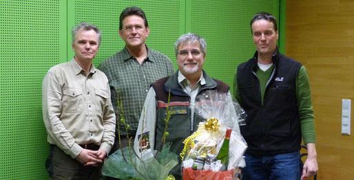 Martin Kiefer, Armin Wuttke, Martin Langkamp, Volker Steinhage  © BG Rhein-Ruhr