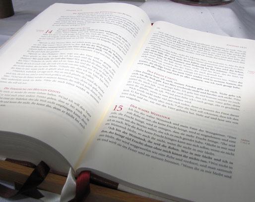 Bibeltexte spielten auf der Freizeit eine wichtige Rolle. // Foto: Alexander Füller